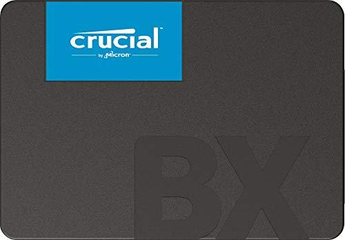 Crucial BX500 CT1000BX500SSD1- Disco Duro Sólido Interno SSD de 1 TB (3D NAND, SATA, 2.5 pulgadas)