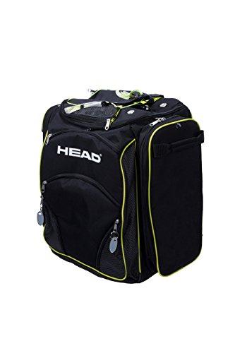 Head Heatable Bolsa para Botas, Black/Neon Yellow, 45 x 40 x 25 cm, 40 L