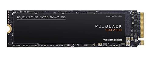 WD Black SN750 - SSD Interno NVMe para Gaming de Alto Rendimiento, 500GB